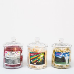 Marshmallow Gift Jar for Art Lovers