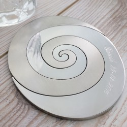 Spiral Couples Coaster
