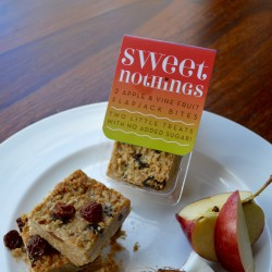 Apple and Vine Fruit Flapjack Bites - No Added Sugar