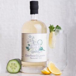 Elderflower & Cucumber Flavoured Gin