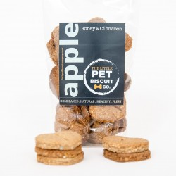 Handmade Dog Biscuits - Apple, Honey & Cinnamon (3 pack)