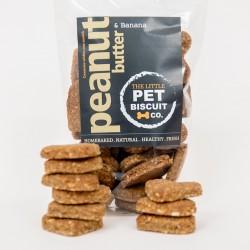 Handmade Dog Biscuits - Peanut Butter & Banana (3 pack)