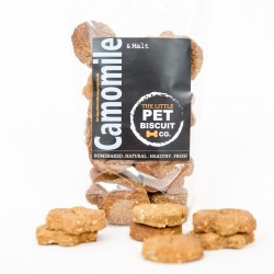 Handmade Dog Biscuits- Camomile & Malt (3 pack)