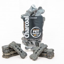 Handmade Dog Biscuits- Charcoal & Aniseed (3 pack)