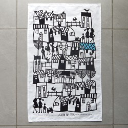 Village Cotton Tea Towel