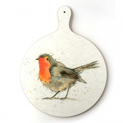 Robin Chopping Board - Christmas - Melamine
