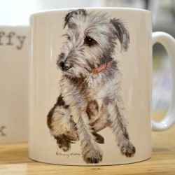 Scruffy Is The New Black Mug