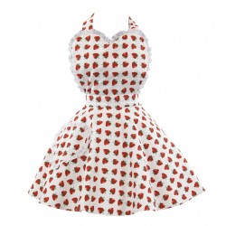 So Berry Sweet Adult Sweetheart Apron
