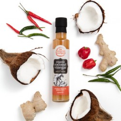 Organic Coconut Vinegar with Chilli and Ginger 250 ml