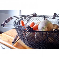 Oval Wire Storage Basket
