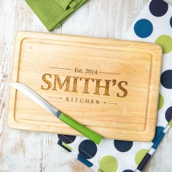 Personalised Family Rectangle Board