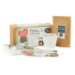 Mediterranean Cheese Making Kit - Feta, Halloumi & Goat's Cheese