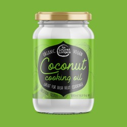 Organic Premium Cooking Coconut Oil 475ml