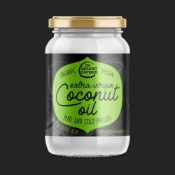 Organic Extra Virgin Coconut Oil - Raw & Cold-pressed
