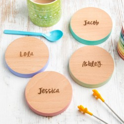 Personalised Family Name Coasters