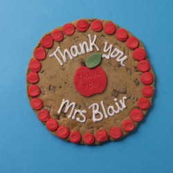 Thank You Teacher Giant Chocolate Chip Cookie