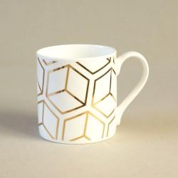 Gold Cube Mug
