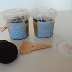 Cookies and Cream Edible Cookie Dough - Single Serving (4 Pots)