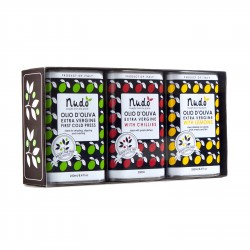 Three Tenors Flavoured Olive Oil Gift Box