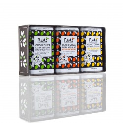 The Citrus Club Flavoured Olive Oil Gift Box