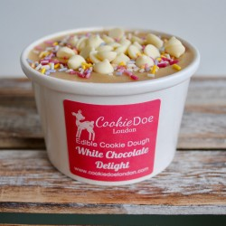 White Chocolate Chip Edible Cookie Dough Tub