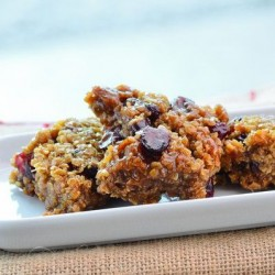 Inca Berry & Pumpkin Seed Coconut Flapjacks