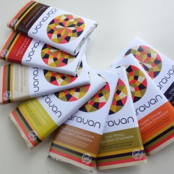 Vegan Raw Dark Chocolate Bar Selection (8 bars)