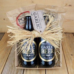 Black Garlic Beer & Snacks Gift Set