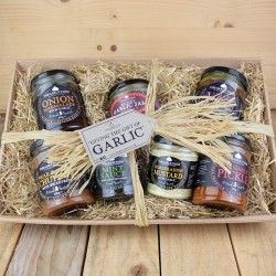 The Garlic Farm Chutney & Condiment Selection