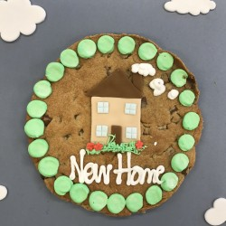 New Home Giant Chocolate Chip Cookie