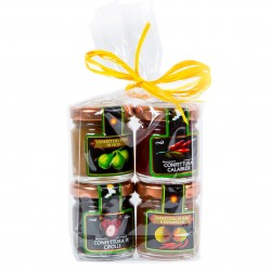 4 Cheese Accompaniments Gift Set