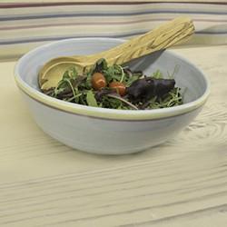 Olive Wood Salad Servers