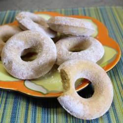 Gluten Free Baked Vegan Donuts