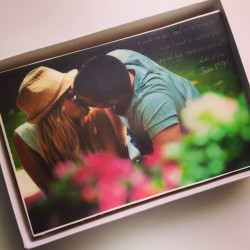 Personalised Photo/Logo Letterbox Cake