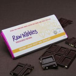 Organic Raw Chocolate Bar Selection