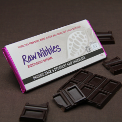 Organic Raw Dark & Decadent Chocolate Bars