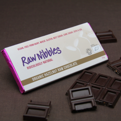 Organic Raw Hazelnut Chocolate Bars
