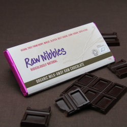 Organic Raw Milk-Away Chocolate Bars