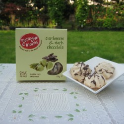 Cardamom & Dark Chocolate Meringues - Small Box (10g)