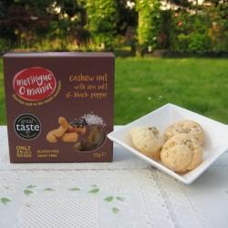 Cashew Nut with Sea Salt & Black Pepper Meringues Multipack