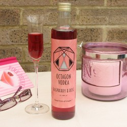 Raspberry & Rose Vodka (Full-Strength)