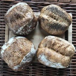 4 Gluten Free Artisan Mixed Sourdough Loaves