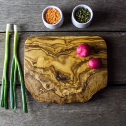 Rustic Olive Wood Cheese/Chopping/Serving Board