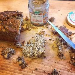 3 Organic Raw Almond & Chia Butter Jars