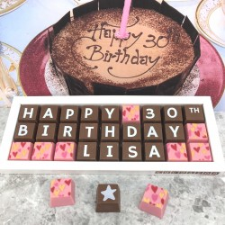 Personalised 30th Birthday Chocolate Box