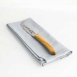 Claude Dozorme Laguiole Cheese Knife - Olive Wood Handle