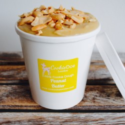 Peanut Butter Edible Cookie Dough Tub