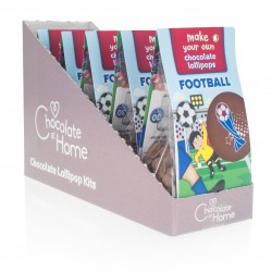 Football Chocolate Lollipop Kits
