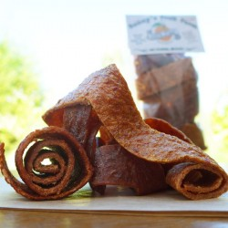 Orange, Persimmon, Plum & Apricot Fruit Leathers - Fruit Rollups