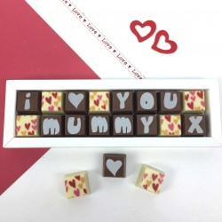 Personalised Chocolates For Mum, Mom Or Maman